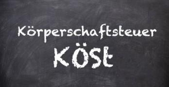 Die Körperschaftsteuer (KöSt) 2014 in Österreich